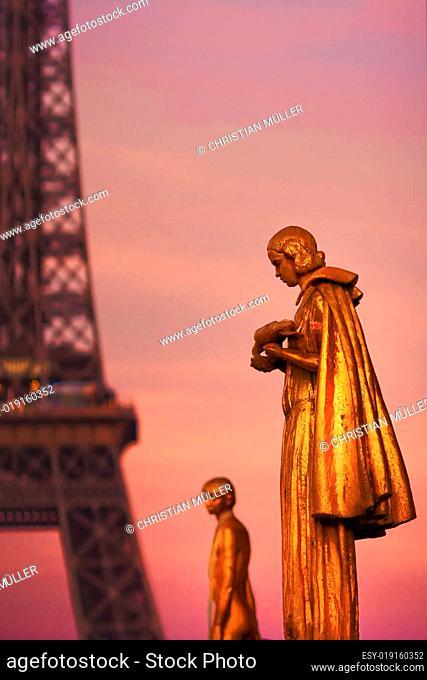 Paris - Place du Trocadero