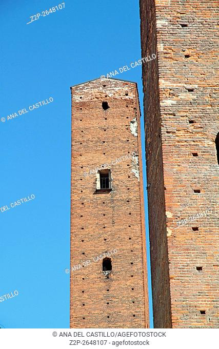 Pavia (Lombardy, Italy): the famous medieval towers