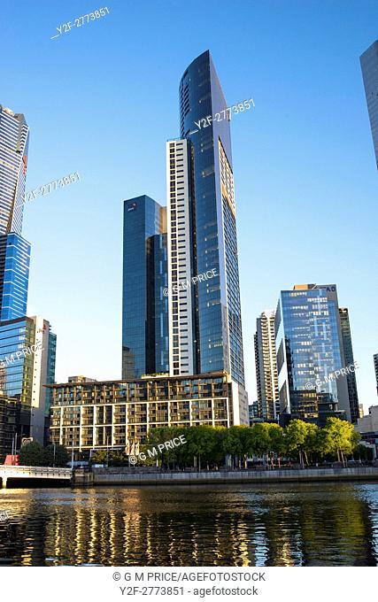Southbank skyline, Melbourne