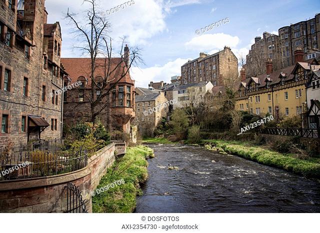 Dean Village; Edinburgh, Scotland