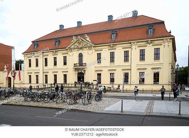 Jewish museum, Berlin,Germany, Europe
