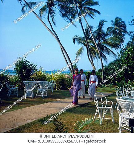 Eine Reise nach Sri Lanka, 1980er Jahre. A trip to Sri Lanka, 1980s
