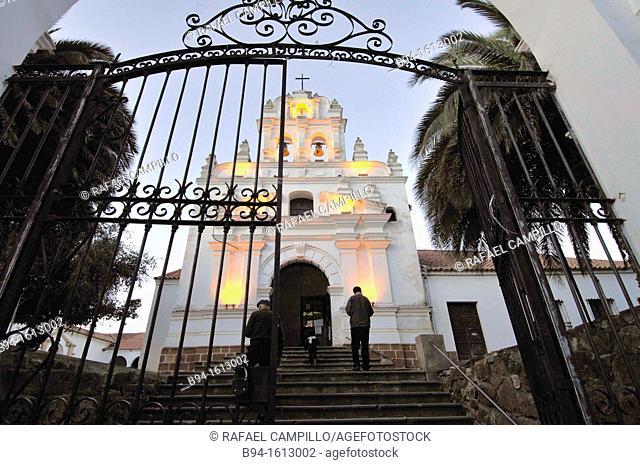 Convent and museum of Santa Clara, Sucre, Bolivia