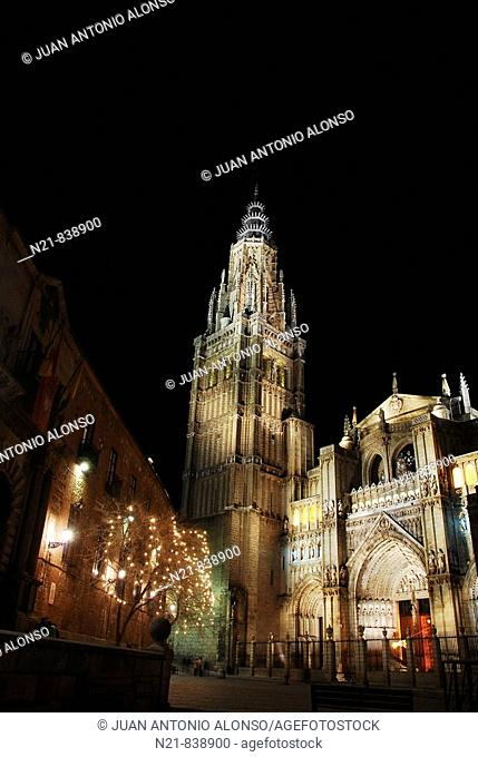 Catedral Primada Santa Maria de Toledo, Toledo, Castilla-La Mancha, Spain, Europe