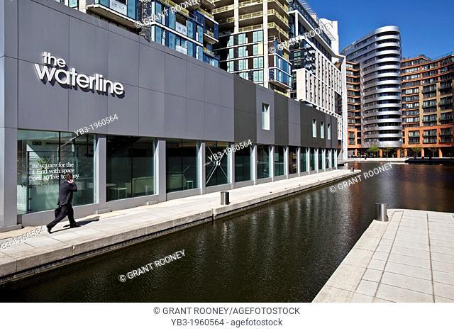 The Waterline Building, Paddington Basin Development, London, England