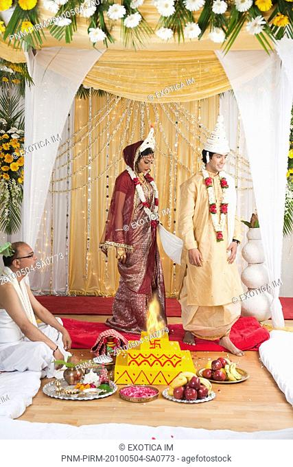 Wedding Mandap Bengali Stock Photos And Images Age Fotostock