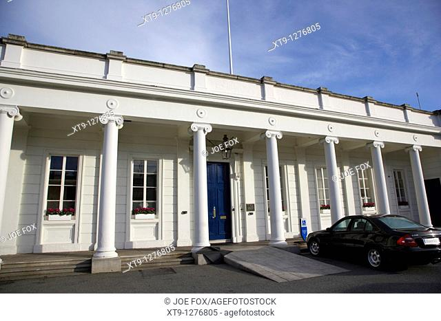 royal irish yacht club clubhouse dun laoghaire dublin republic of Ireland