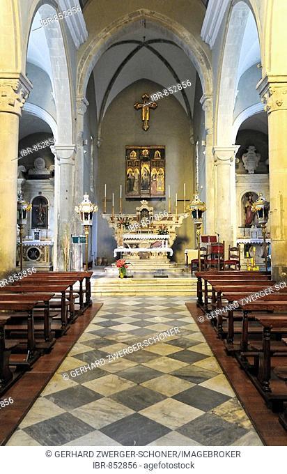 Pilgrimage church of Madonna di Reggio, Liguria, Cinque Terre, Italy, Europe