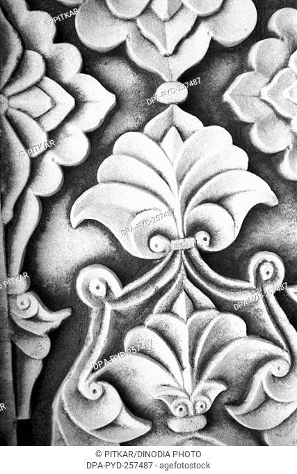 carving tomb of Akbar, sikandra, Agra, uttar pradesh, India