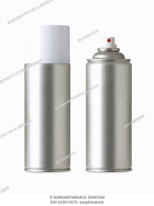 Blank aluminum spray paint can, Aerosol Spray Metal Bottle