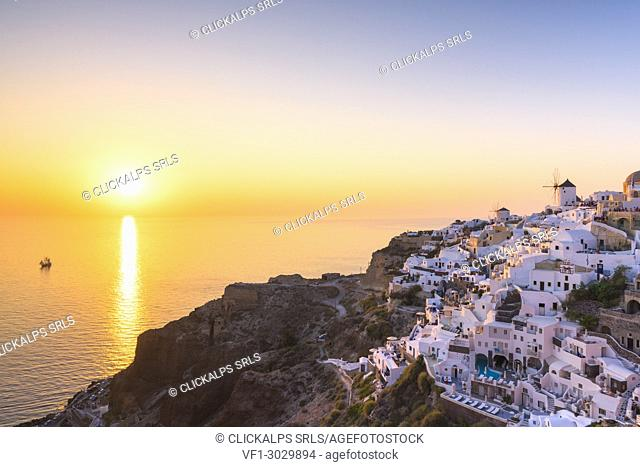 Oia,Santorini,Cyclades,Greece