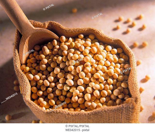 White soybeans