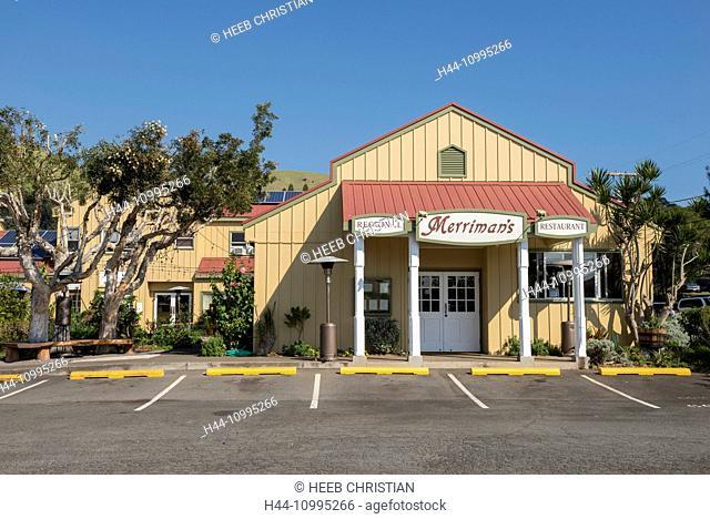 USA, Vereinigte Staaten, Amerika, Hawaii, Big Island, Northern Island, Waimea, Merriman's restaurant