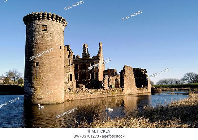 Caerlaverock Castle, United Kingdom, Scotland