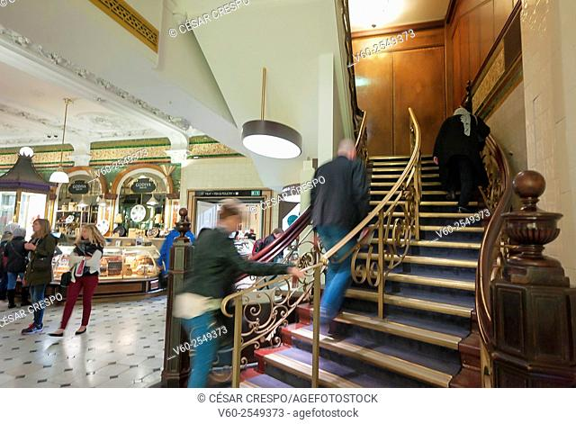 Harrods department store, London, England, UK