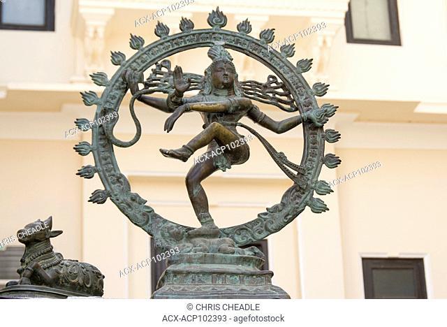 Brass hindu scupltures Udaipur, Rajastan, India