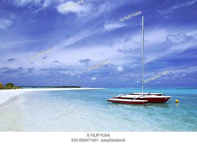 Boat and beach