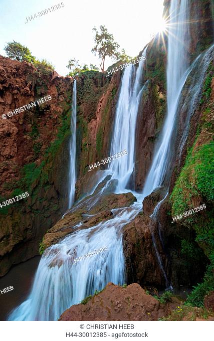 Morocco, Moroccan, Ouzod, Cascade D'Ouzoud,Ouzoud Falls, North Africa, Africa, African