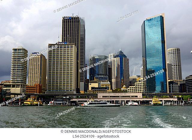 Circular Quay Docks Sydney Australia New South Wales AU