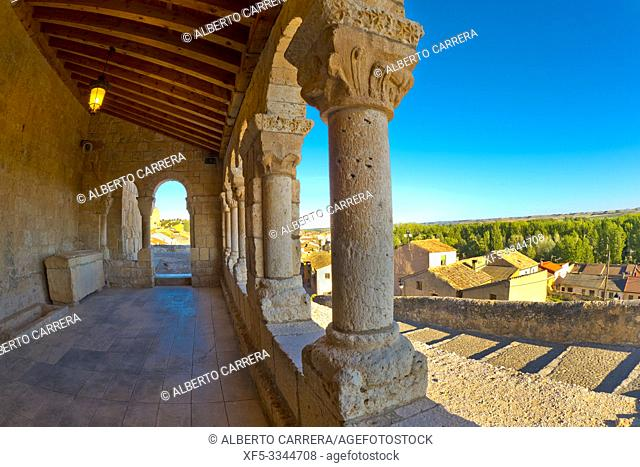Church of Nuestra Señora del Rivero, 12th century Romanesque Style, Spanish National Heritage Site, Spanish Property of Cultural Interest, San Esteban de Gormaz