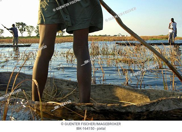 Mokoro trip in Okavango Delta Botswana