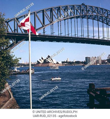 Urlaub in Sydney, Australien 1970er Jahre. Vacation in Sydney, Australia 1970s