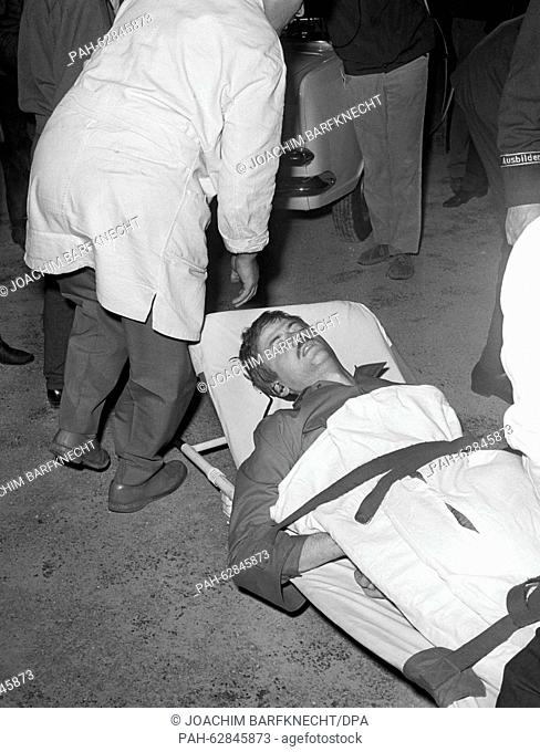 Student Benno Ohnesorg (picture), who was shot by Karl-Heinz Kurras at the demonstration on the occasion of the Shah of Iran's visit on 02 June 1967