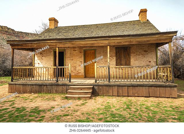 The John Wood house, Grafton ghost town, Utah USA