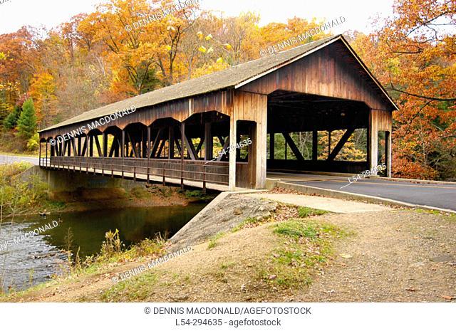 Clear Fork Gorge National Landmark. Ohio. USA
