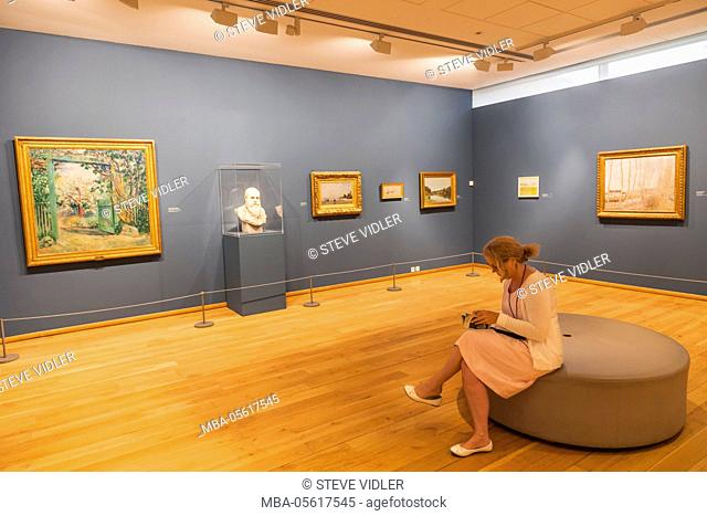 France, Normandy, Giverny, The Musee des Impressionnismes aka The Impressionist Museum