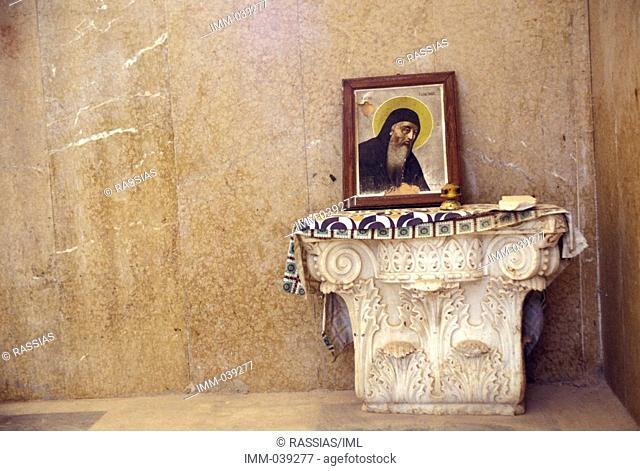 Eptanese, Kefallonia Agios Gerasimos church, Omalos Valley