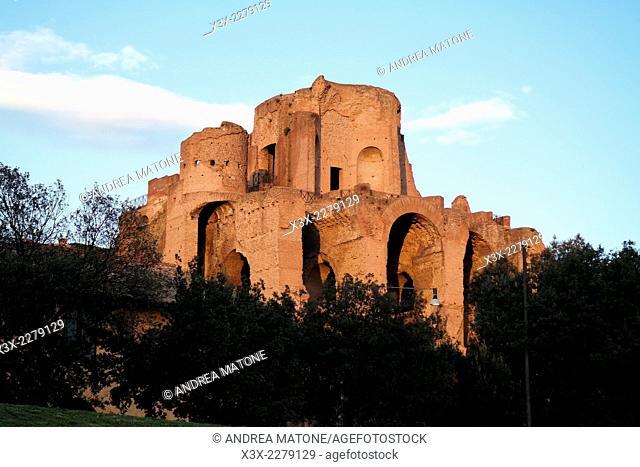 Palatine hill. Rome, Italy