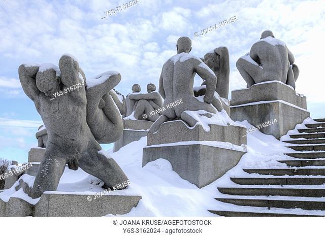 Oslo, Frogner Park, Norway, Scandinavia, Europe
