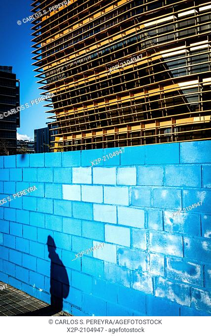 Modern architecture, 22@ business development, Poblenou, Barcelona, Catalonia, Spain