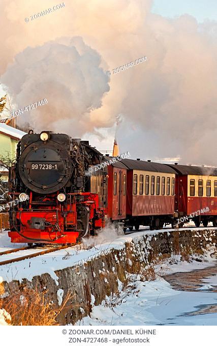 Harzer Schmalspurbahnen Straßber Harz