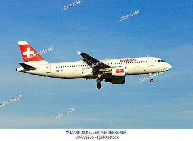 Airbus A320-214 from the Swiss International Air Lines AG