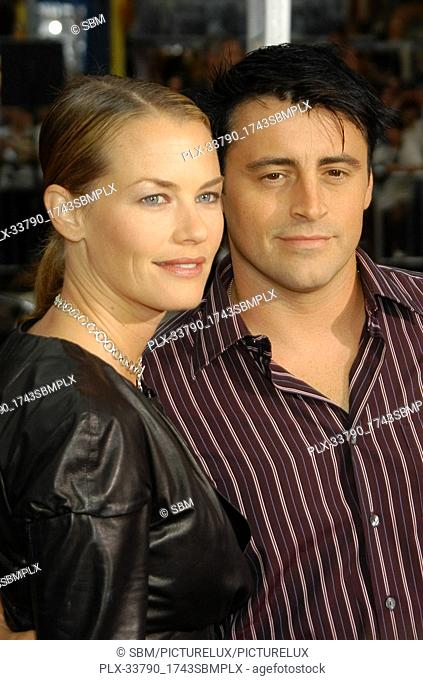 """Matt LeBlanc & Wife Melissa at the Premiere of Columbia Pictures' """"""""Charlie's Angels: Full Throttle"""""""", held at Grauman's Chinese Theater in Hollywood, CA"""
