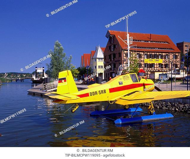 Deutschland Ostsee Wolgast