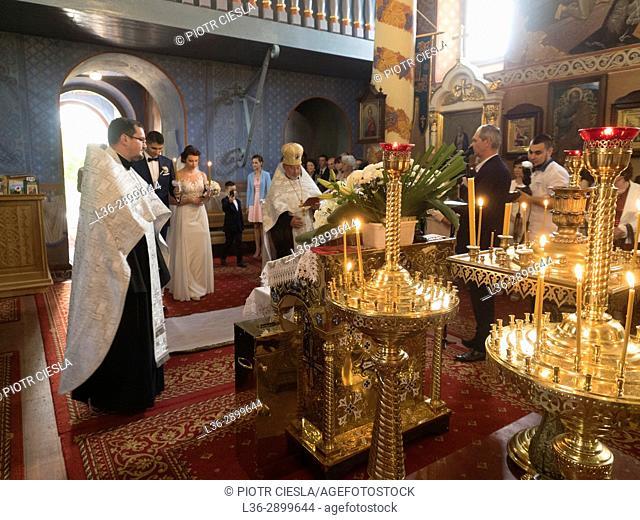 Poland. Mielnik. Orthodox wedding
