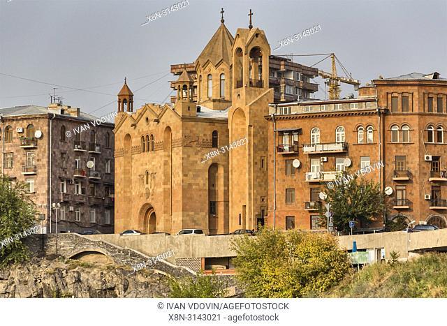 Surb Sarghis cathedral (1976), Yerevan, Armenia