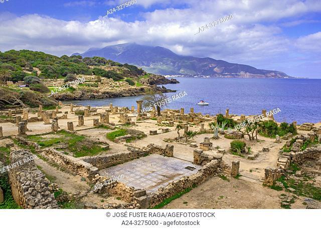 Algeria, Tipazza City, Roman ruins of Tipazza City