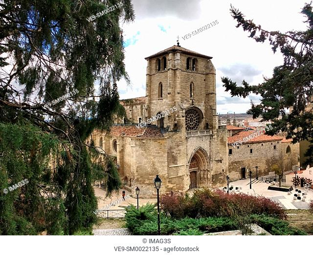 San Esteban church, Burgos city, Way of St. James, Burgos, Spain