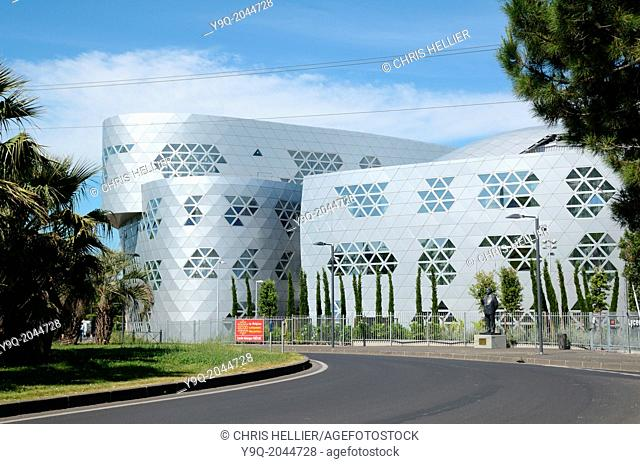 Lycée Georges Fréche by Massimiliano Fuksas Montpellier France
