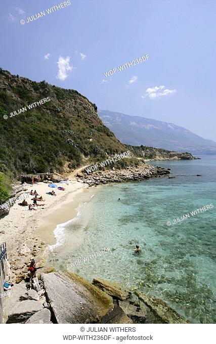 Desternation Greece/Kefalonia resort of St Thomas on the south coast