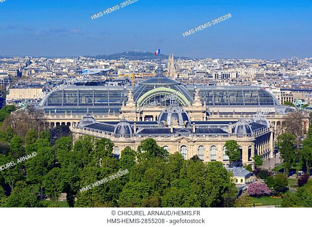 France, Paris, the Grand and the Petit Palais (Grand and Little Palaces)