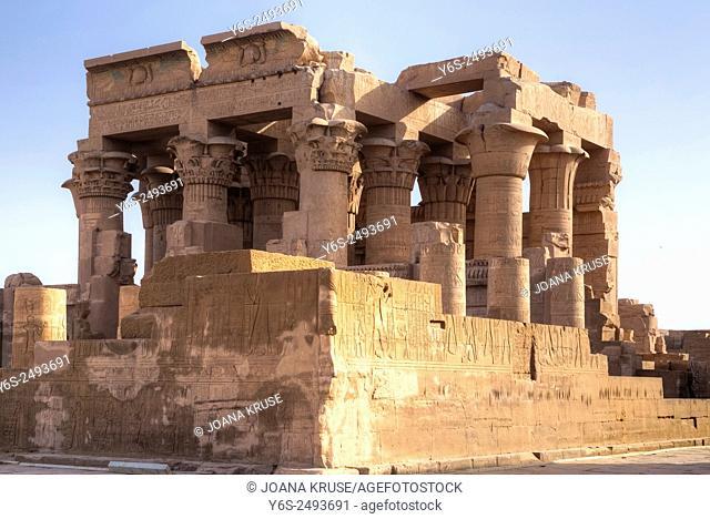 Temple of Kom Ombo, Aswan, Egypt, Africa