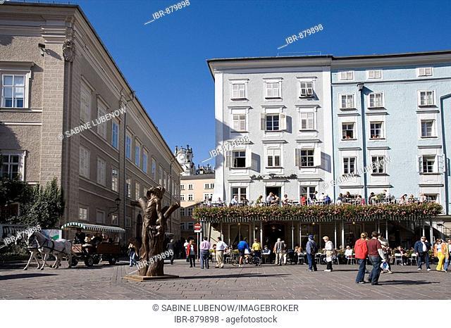 Tomaselli Cafe at the Old Market, Salzburg, Salzburger Land, Austria, Europe