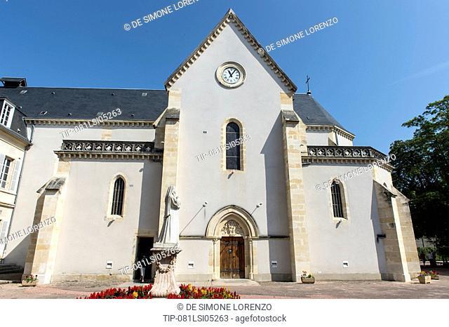Europe, France, Nievre, Nevers, Saint Bernadette Sanctuary