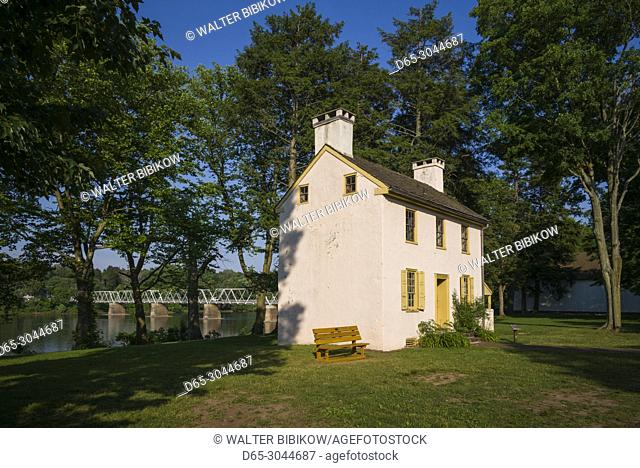 USA, Pennsylvania, Bucks County, Washington Crossing, Washington Crossing Historic Park, Hibbs House