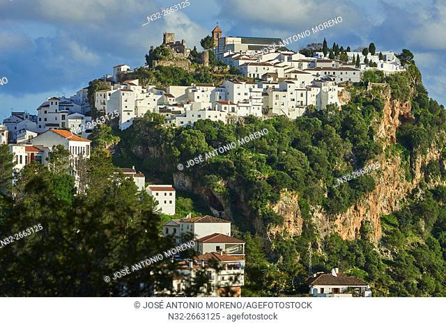 Casares, Costa del Sol, Malaga Province, Andalusia, Spain